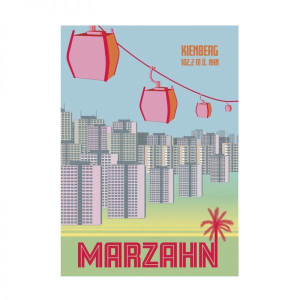 Postkarte Berlin Marzahn