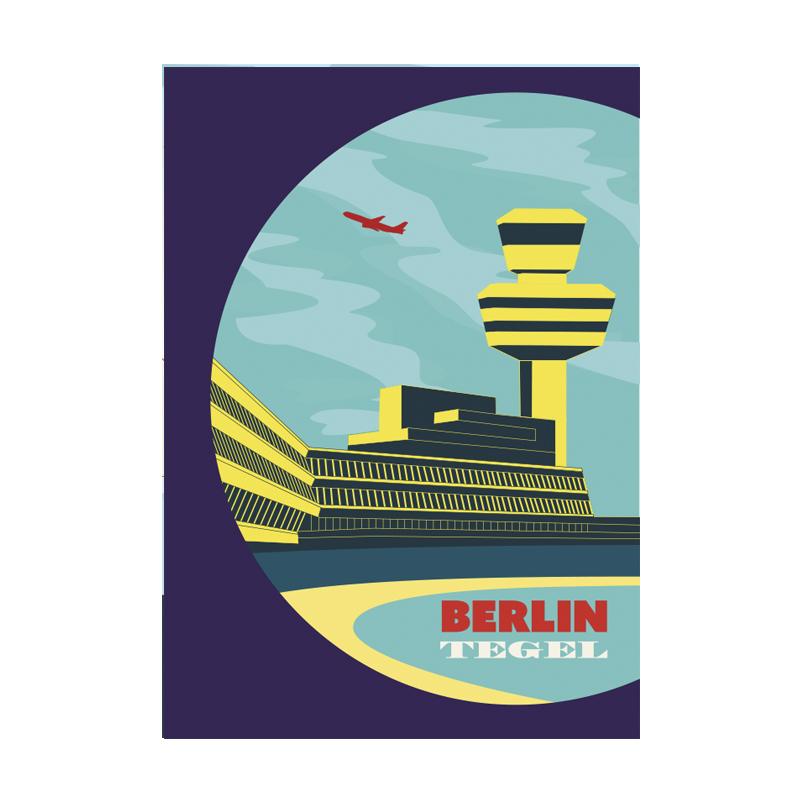 Postkarte Berlin Tegel