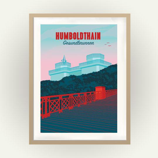 Berlin Poster Wedding Humboldthain Park