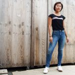 Berlin Shirt schwarz Brandenburger Tor Frau