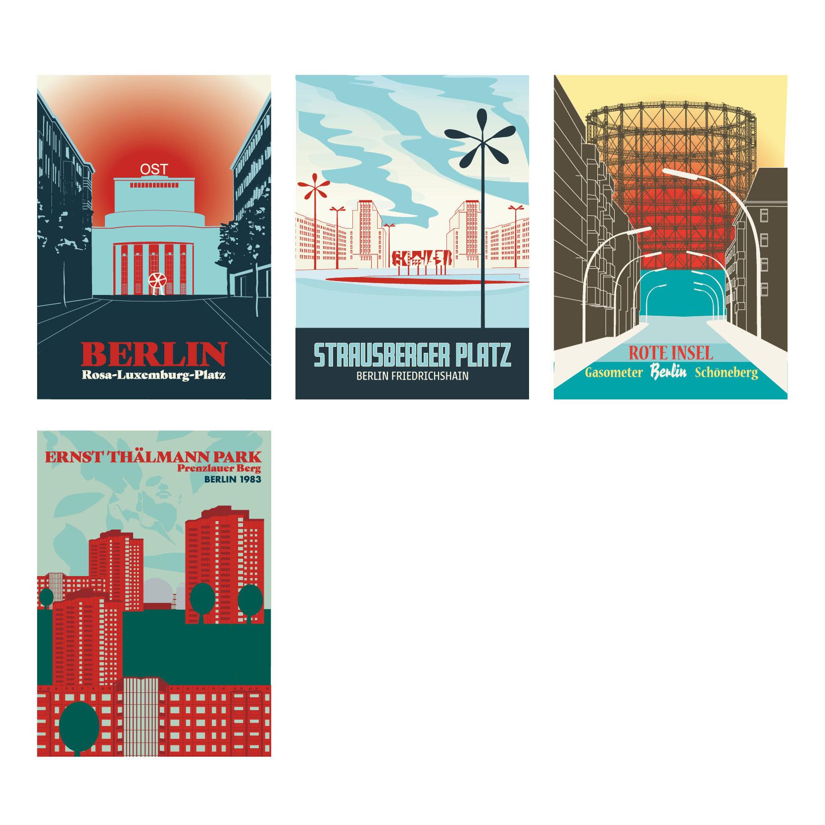 Volksbühne Strausberger Platz Ansichtskarte
