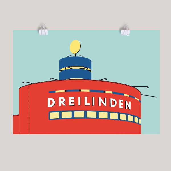 Berlin Poster Dreilinden