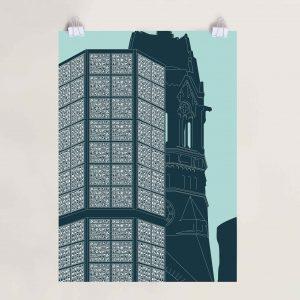 Berlin Poster Gedächtniskirche