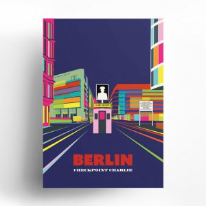 Berlin Poster Checkpoint Charlie