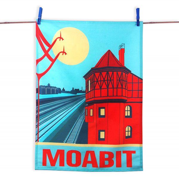 Moabit Geschirrtuch Westhafen