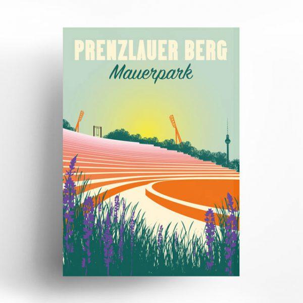 Berlin Poster Prenzlauer Berg