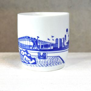 Berlin Design Tasse Illustration Kulturforum