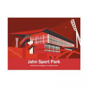 Berlin Fussball Postkarte Jahn Stadion