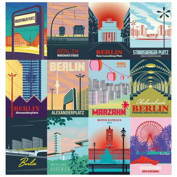 ost berlin postkarten swert