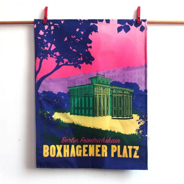 Berlin Geschirrtuch Boxhagener Platz