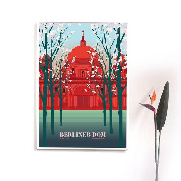 Berliner Dom Poster