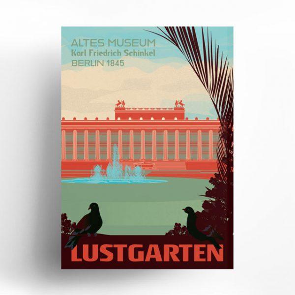Berlin Poster Lustgarten