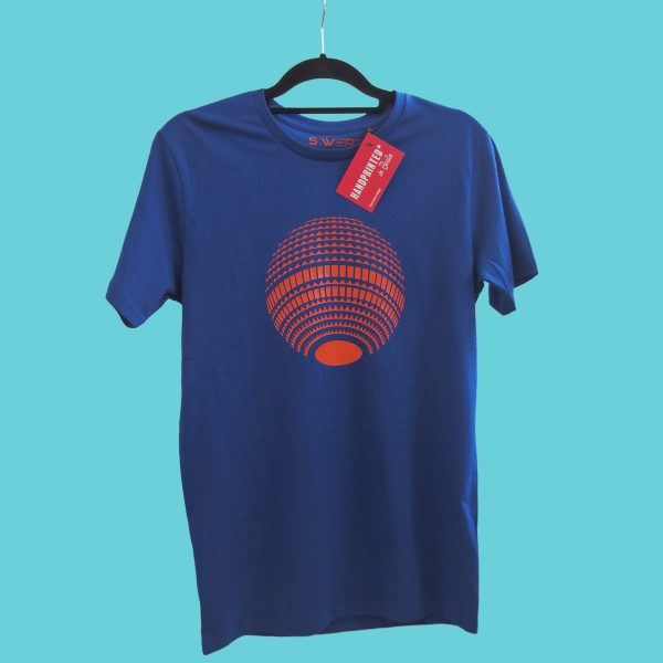 Berlin Shirt blau orange