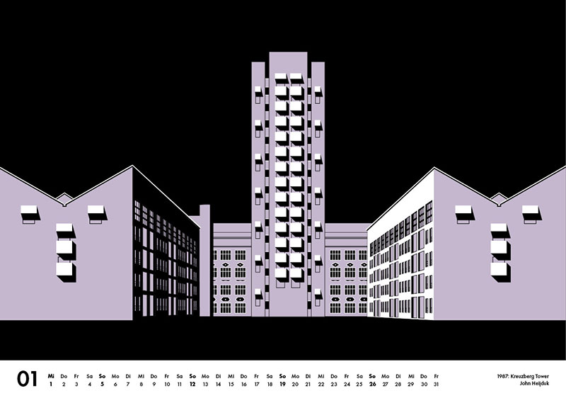 s.wert Kalender Kreuzbergtower John Heijduk