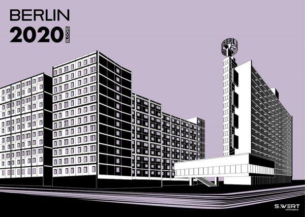 Berlin s.wert Kalender 2020