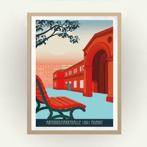 Moabit Poster Arminiushalle Markthalle
