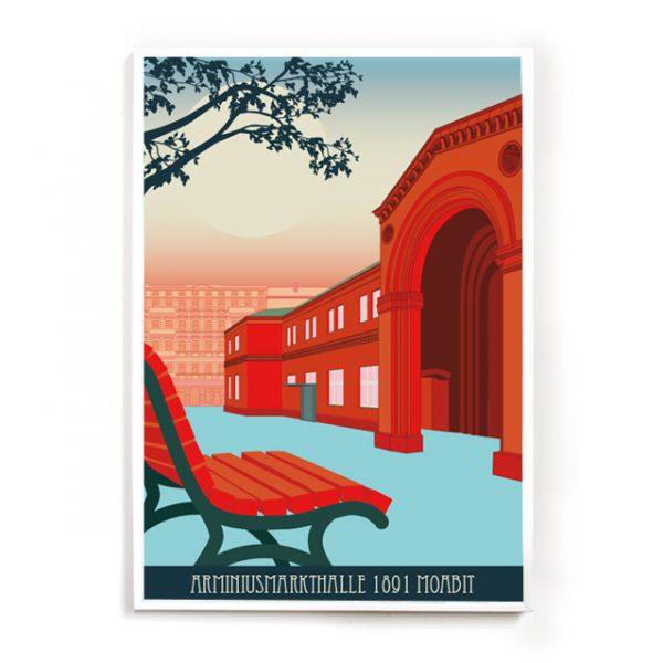 Berlin Moabit Poster Arminiushalle