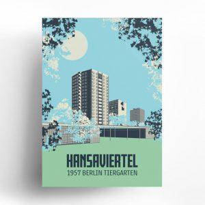 Berlin Poster Hansaviertel