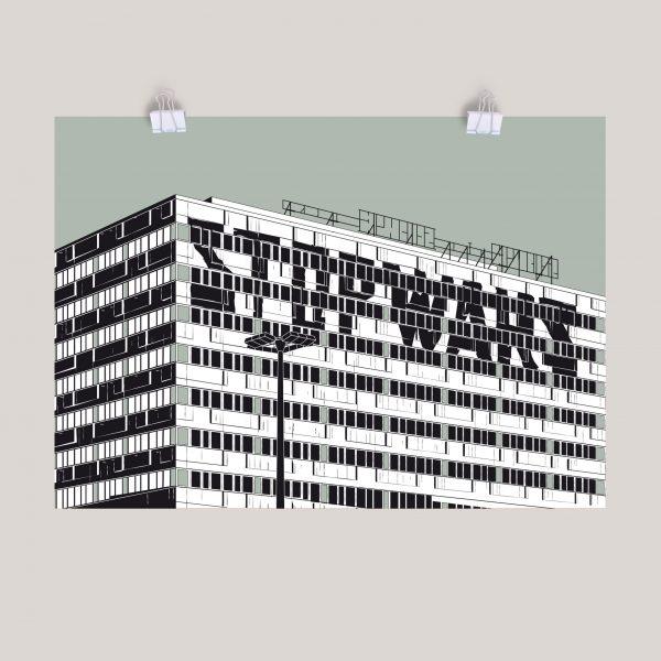 Poster haus der Statistik STOP WARS