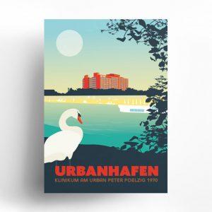 Berlin Travelposter Urbanhafen