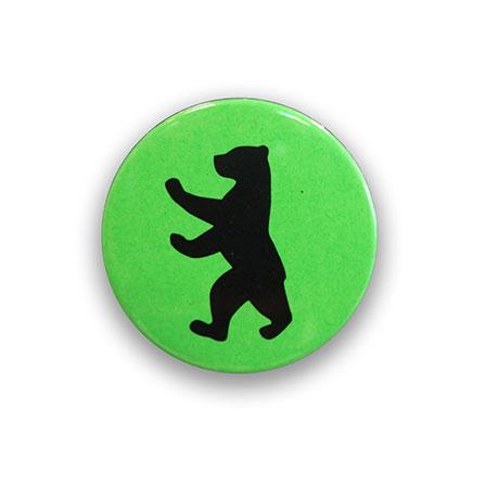 Berliner Bär neon grün