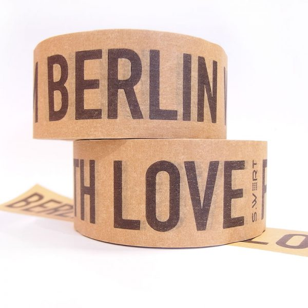 Berlin Klebebeand aus Papier