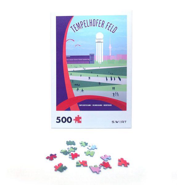 Berlin Puzzle Tempelhofer Feld