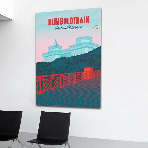 Berlin Poster Aludibond Gesundbrunnen