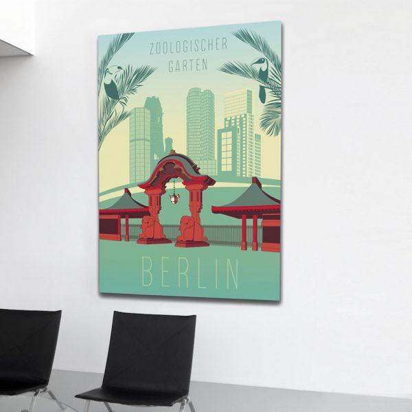 Berlin Poster Zoo