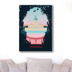Berlin Poster Aludibond Charlottenburg