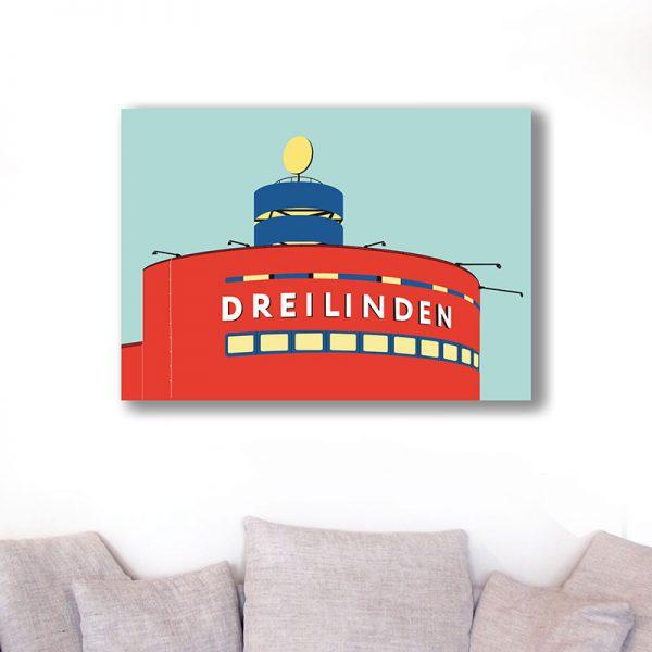 Berlin Poster Aludibond Dreilinden