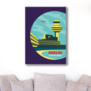 Berlin Poster Aludibond Tegel