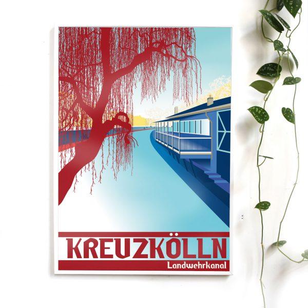 Berlin Poster Neukölln