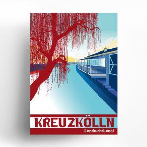 Poster Berlin Neukölln