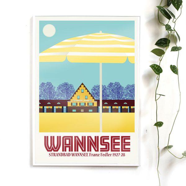 Poster Berlin Wannsee