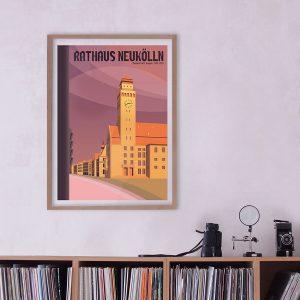 Poster Rathaus Neukölln
