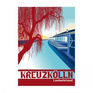 Berlin Kreuzkoelln Postkarte