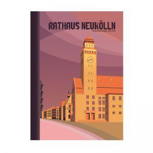 Berlin Rathaus Neukölln Postkarte