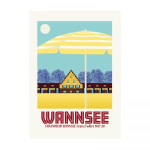 Berlin Wannsee Postkarte
