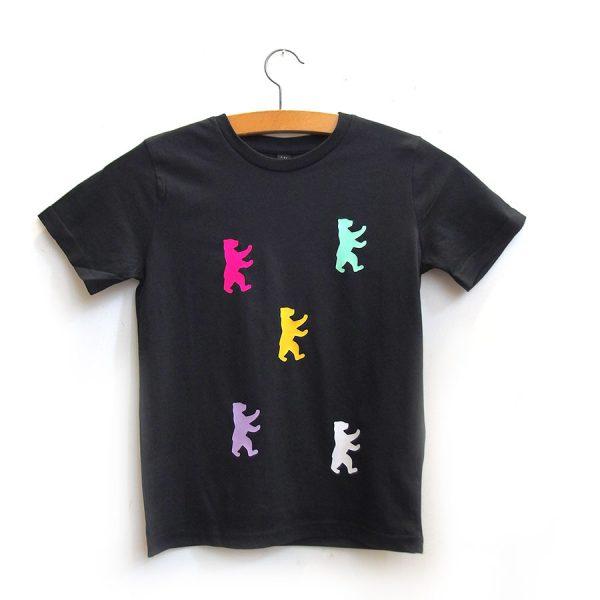 Berlin Kinder Shirt Berliner Bär auf Holzbügel