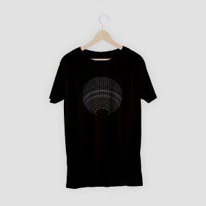 T-Shirt Fernsehturm Schwarz