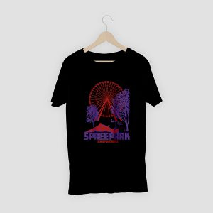 T-Shirt Berlin Spreepark Schwarz