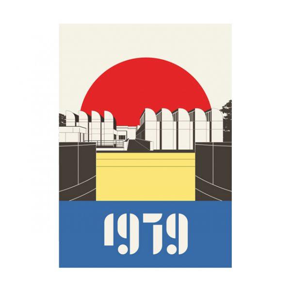 Berlin Poster 1979 Tiergarten