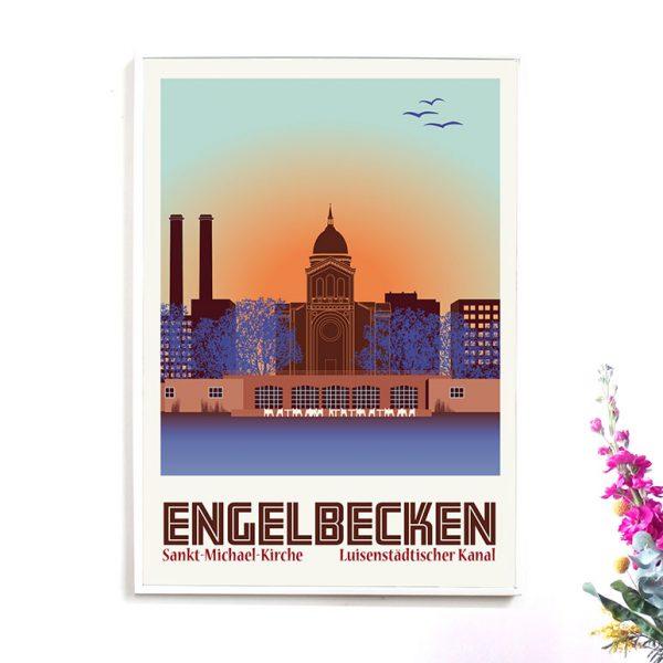 Berlin Poster Engelbecken