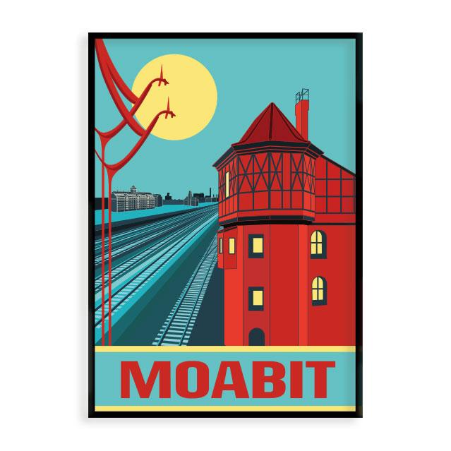 Poster Moabit S Wert Design