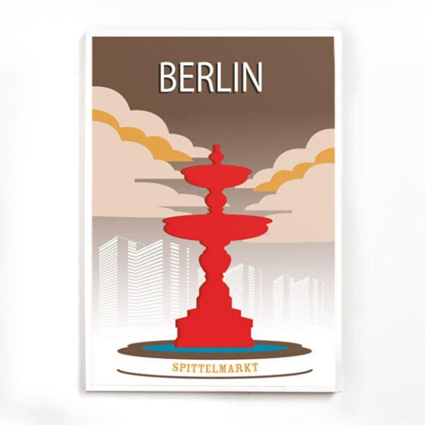 Poster Berlin Spittelmarkt