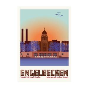 Postkarte Berlin Engelbecken