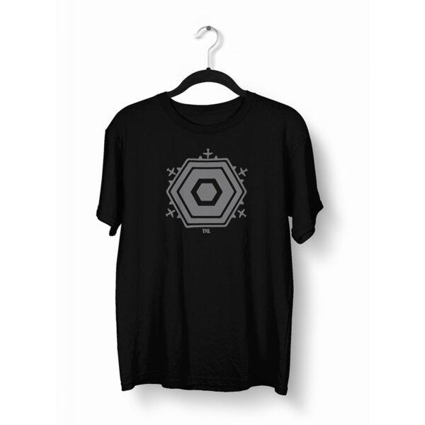 Berlin T-Shirt TXL schwarz grau auf Bügel