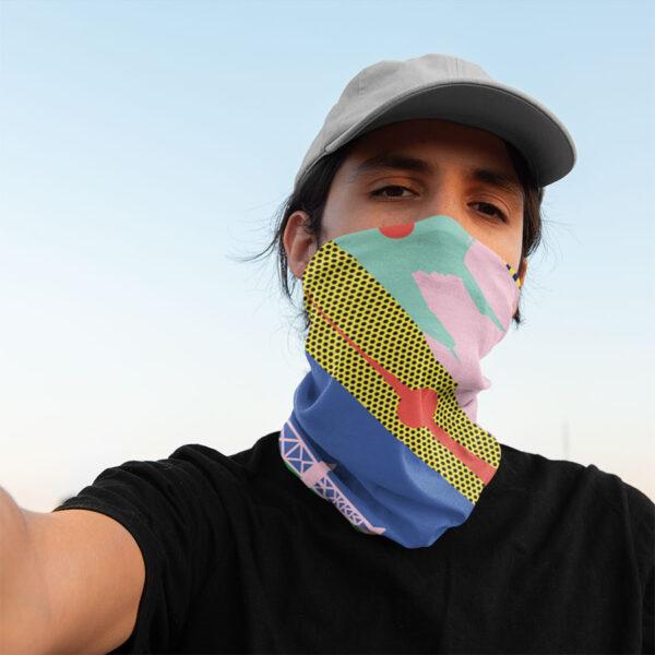 Berliner Göre mit Maske