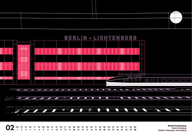 Bahnhof Lichtenberg Berlin 2021